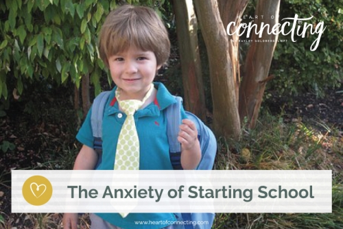 The Anxiety of Starting School
