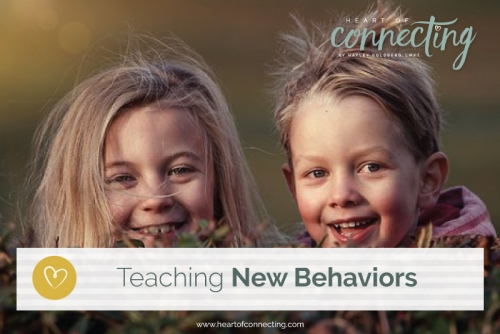 Teaching New Behaviors
