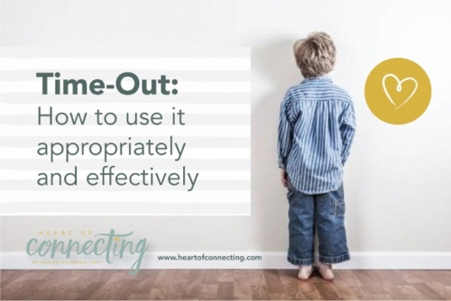 TIME-OUT: How to use it appropriately and effectively