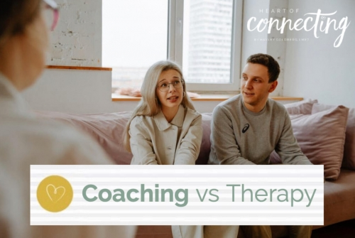 Do you know the difference between coaching and therapy?