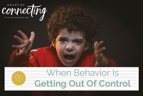 When Behavior is Getting Out of Control