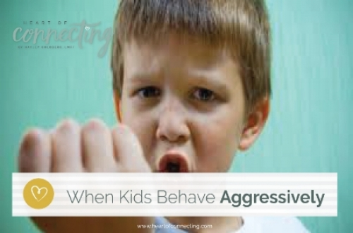 When kids behave aggressively