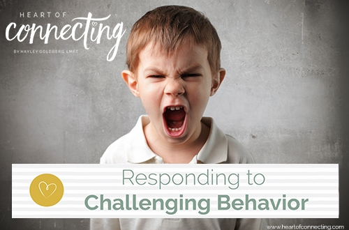 Responding to Challenging Behavior