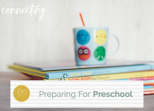 Preparing for preschool